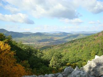 Blue Ridge Mountains by lstinwonderland