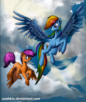 Are you prepared to fly? by Suahkin