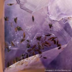 Amethyst w/ Impurities by KBeezie