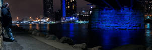 Myself under the Blue Bridge by KBeezie