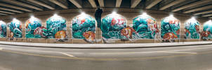 Mural at Front Ave by KBeezie