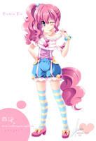 [MLP]Pinkie Pie of moe anthropomorphism by SakuranoRuu