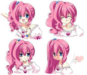 [MLP]Pinkie Pie -Facial Expression by SakuranoRuu