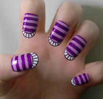 Cheshire Cat - esque - y by KayleighOC