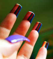 Inside-Out Nail Art by KayleighOC