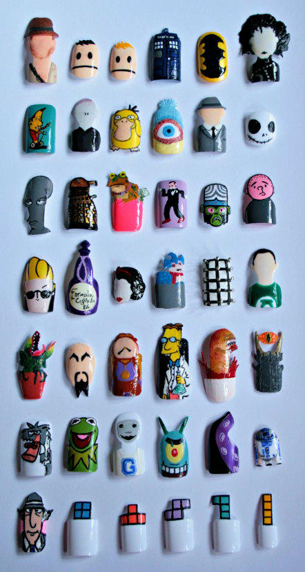 Nail Art Collection by KayleighOC