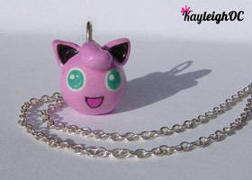 Jigglypuff Necklace by KayleighOC