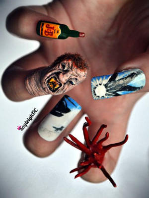 The Thing - Nail Art by KayleighOC