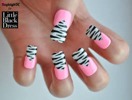 Funky Hearts Nail Art..s by KayleighOC