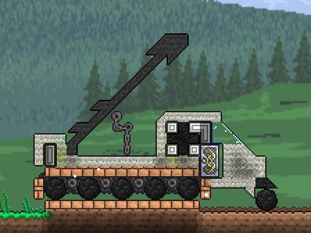 Terraria War Vehicle By Liquidsnake81 On Deviantart