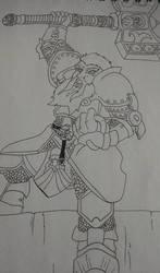 Dwarf Cleric by pendragonvamp