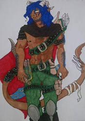 Tiefling Assassin by pendragonvamp