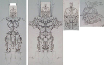 Torchlight II Armor Contest - WIP by Spaded