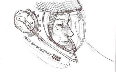 Felix Baumgartner by Spaded