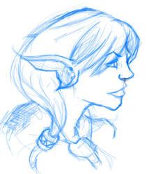 Elfen Lady by Spaded