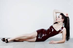 Kay Morgan - dark cherry HighGlossDoll by Kay-Morgan