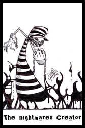 The Nightmares Creator by Cosmiksquirel