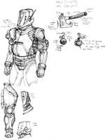 Squad Based Game: Engineer Concept. by KidneyShake