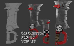 Ork Choppa by KidneyShake