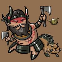 Dota Fanart v2 - Beastmaster by KidneyShake