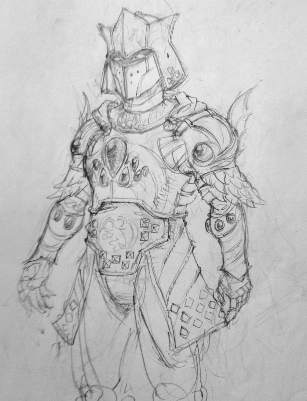 Rhaegar Targaryen Sketch by KidneyShake
