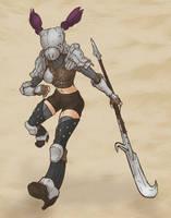 Medieval Nova (Warframe) by KidneyShake