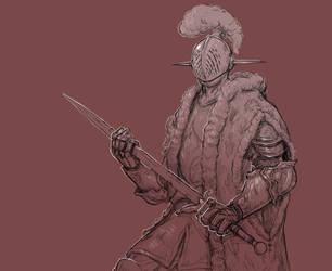 Inktober 22/31 Expensive Knight by KidneyShake