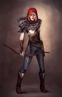 Red Riding Hood by DoloresLunasa