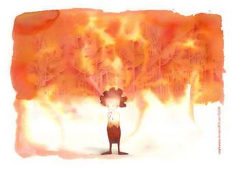 Fire Forest by arghavan