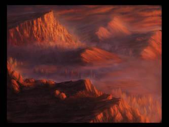 Basic Land - Mountain by Sobeks