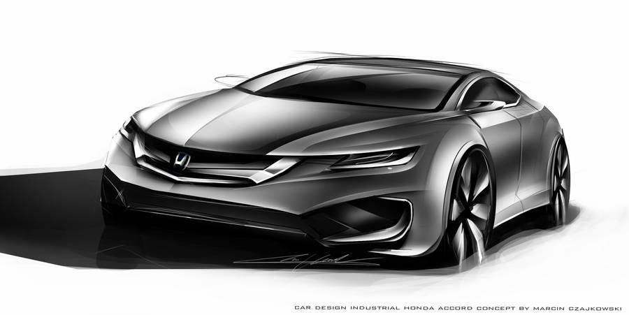 Honda Accord Concept 2018 >> Honda Accord 2018 Concept By Czajkovski On Deviantart