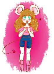 ratoncita feliz(? by KaruBelu