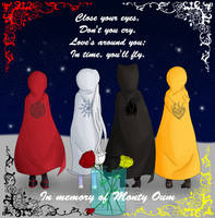 In memory of Monty Oum. Our last farewell by TheBlackNeko