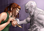 Slayer of the Vampires by Petarsaur