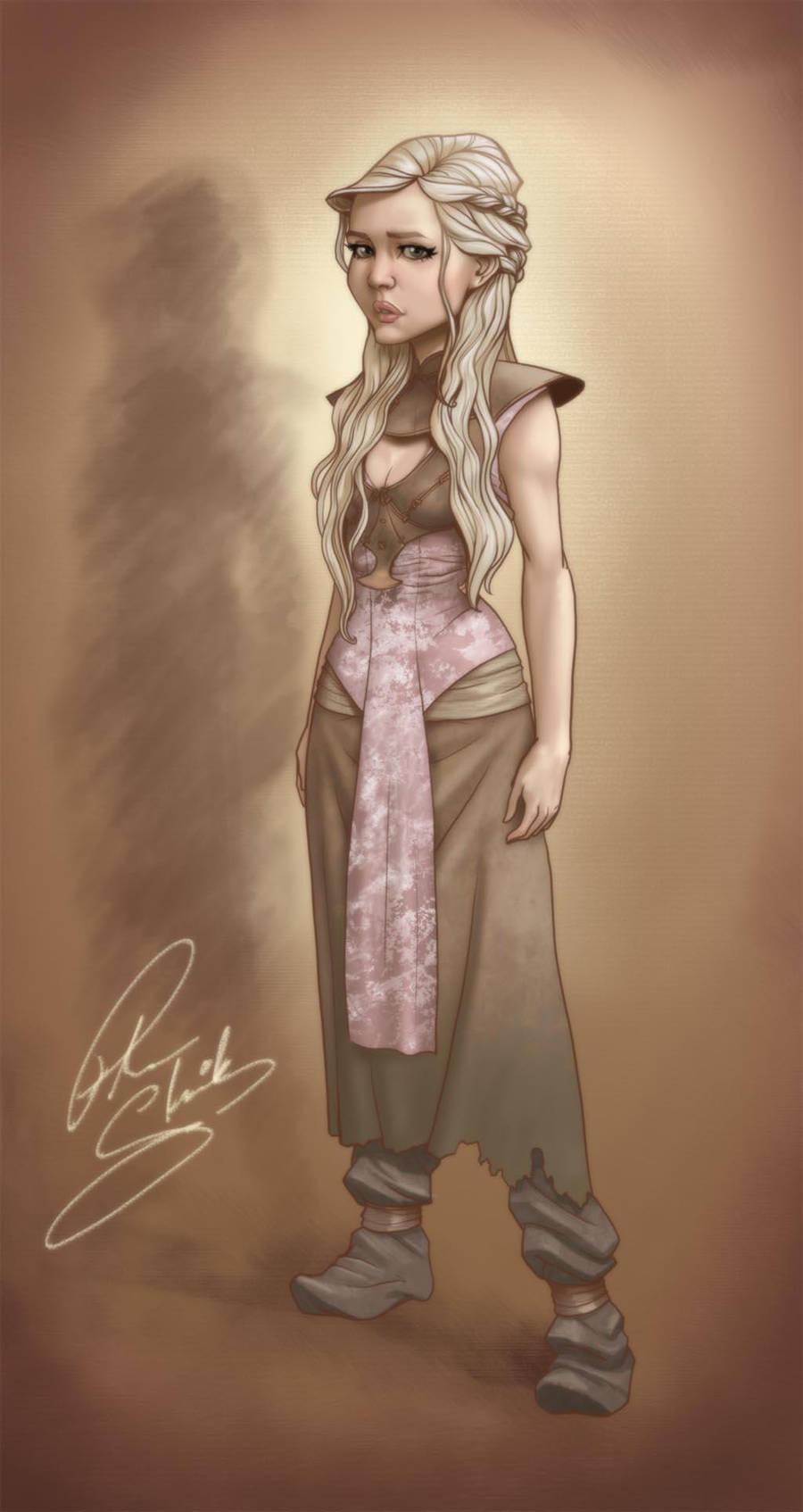 Daenerys Targaryen by Petarsaur