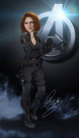 Black Widow by Petarsaur