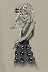 Dalek Girl by Petarsaur