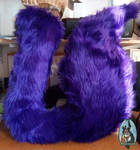 [Commission] Sleepy king Cosplay Tail by Menevoreth