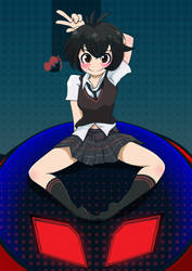 Peni Parker from Spiderverse by Cinnamon6