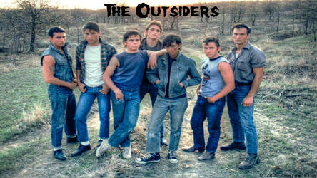 The Outsiders: HDR Wallpaper by sadpuppydog