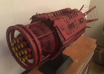 Red Dwarf scratch built model by Komojin