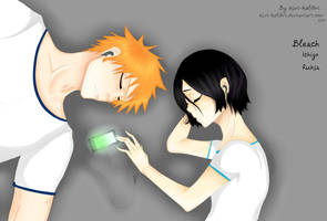 Ichigo and Rukia sleep music by kivi-kolibri