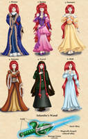 Iolanthe Teriae - Wardrobe by dragondoodle