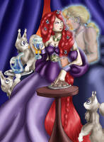 Iolanthe Teriae - In Private by dragondoodle