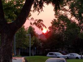 Smoky Sunrise by dragondoodle