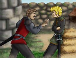 Captain Jace Pyrs - Anger by dragondoodle