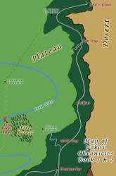 Map for Yokov Chronicles 1 and 2 by dragondoodle