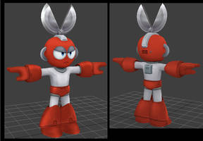 Cutman Model done! by dezmu