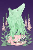 A Coyote in Fox Gloves by stuntkid
