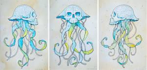 Jelly Skulls by stuntkid